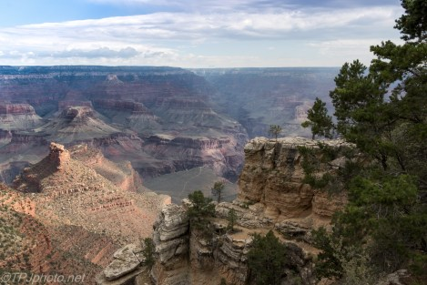 Looking Down The Canyon - Click To Enlarge