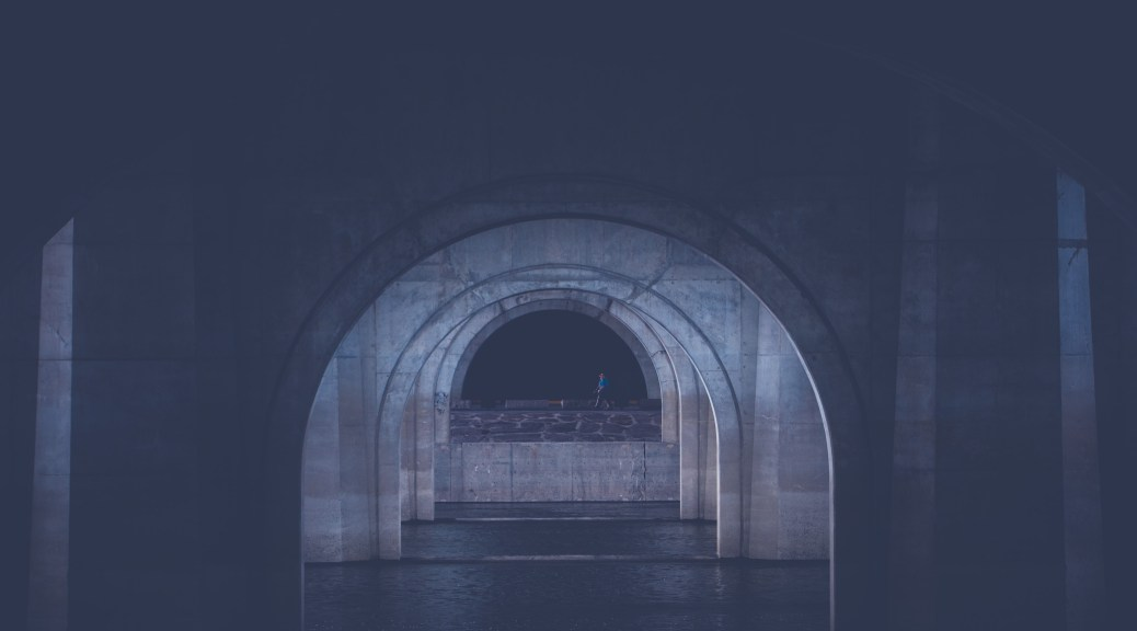 Under The Connecticut Founders Bridge