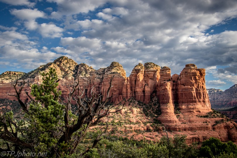Red Rock Formations - Click To Enlarge