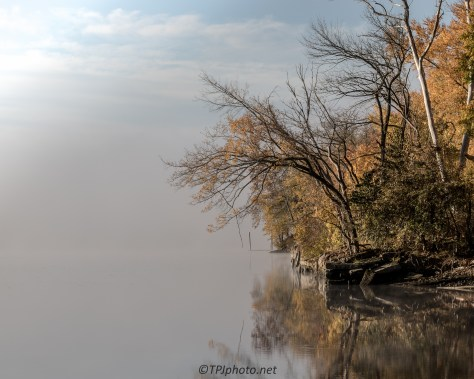 Fog Hiding The Connecticut River - Click To Enlarge