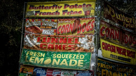 Old Time Carnival Signs - Click To Enlarge