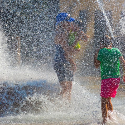 Inside The Fountain, Cooling Off - Click To Enlarge