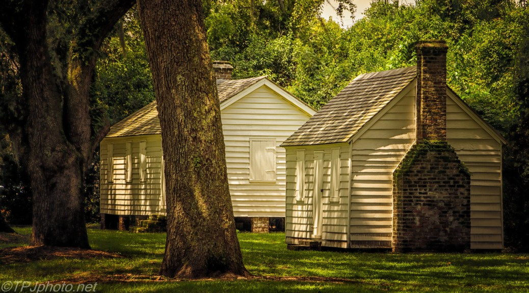 Enslaved Workers Cabins - Click To Enlarge