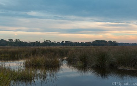 Marsh Sunset - click to enlarge