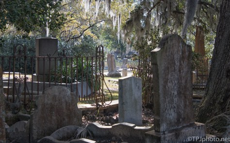 Old Charleston Headstones - click to enlarge