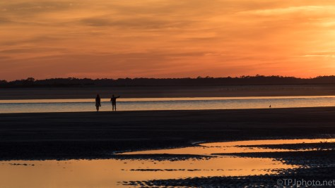 Sunset People - click to enlarge