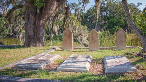 Three And Three, Cemetery - click to enlarge