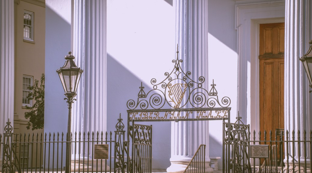 Hibernian Hall, Charleston - click to enlarge