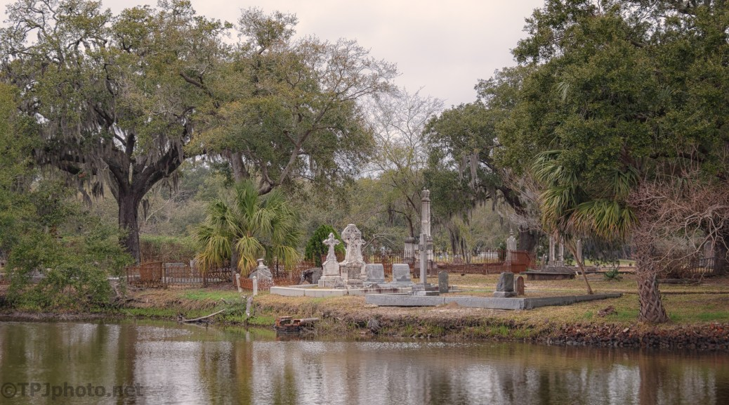 Old Magnolia Cemetery, Across The Marsh - click to enlarge