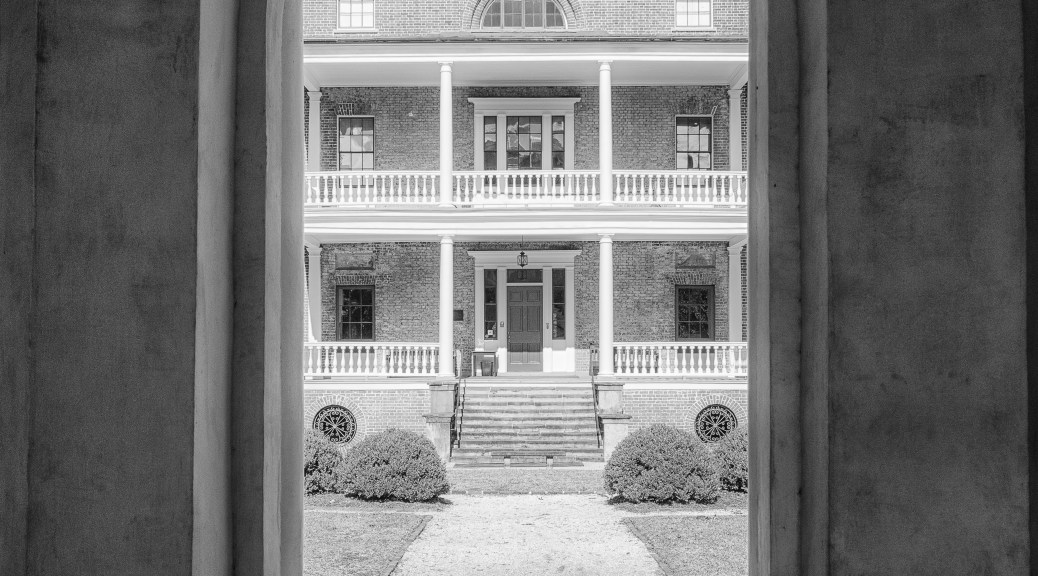 Manigault Home, Gate House Entrance - click to enlarge