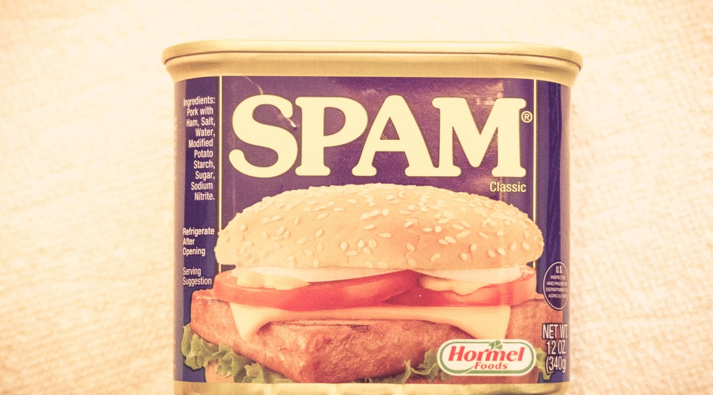 I Am Spam I Am