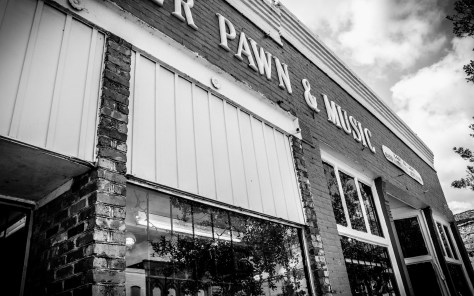 An Old Pawn Shop, Sunday Morning