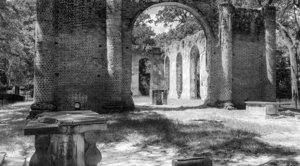 Church Of Prince Williams Parish, South Carolina. 1755