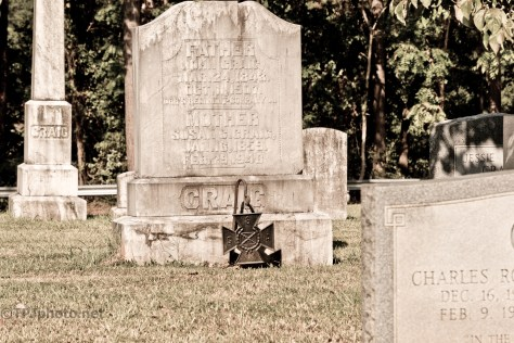 Cemetery At Pickens Court House, South Carolina