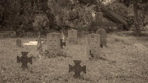 Sepia Cemetery