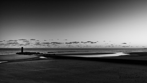 End Of Day In B&W