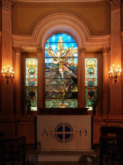 Inside St. Michael's, Charleston