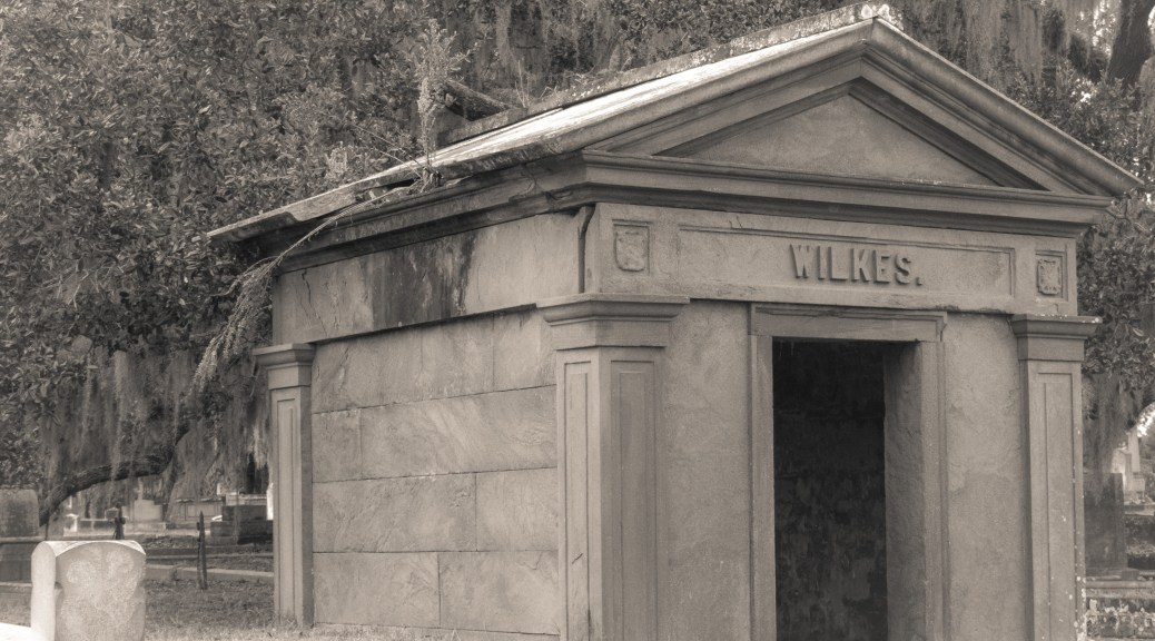 Old Abandon Mausoleum