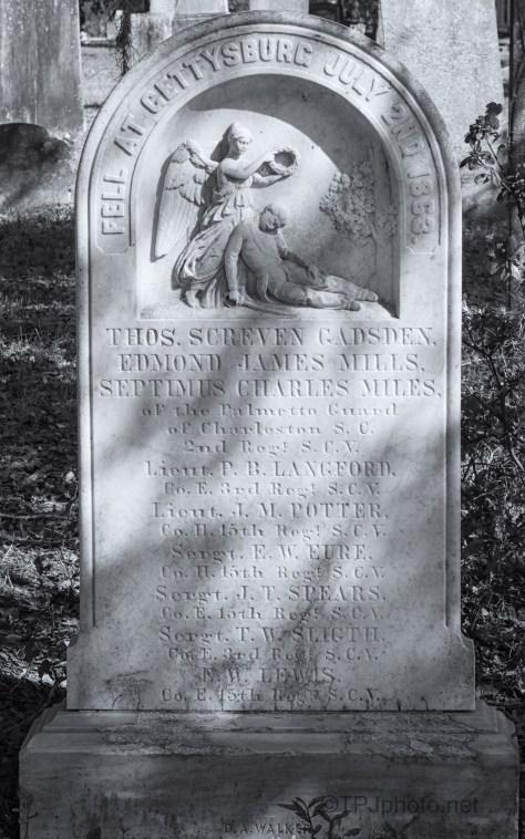 Monument To South Carolina Gettysburg Deaths