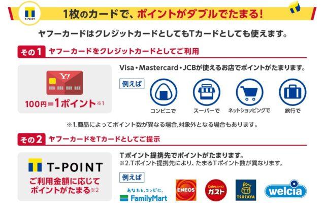 Yahoo! JAPANカード機能