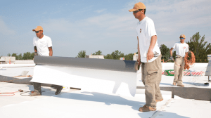 Commercial TPO Roof Installation
