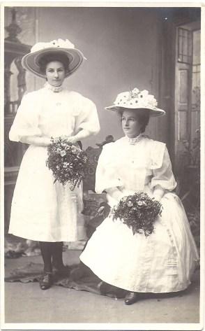 Mabel Alice &b Sophia Eliza Allsop