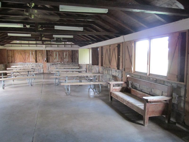 Lake Brownwood State Park Group Hall With Kitchen Dining