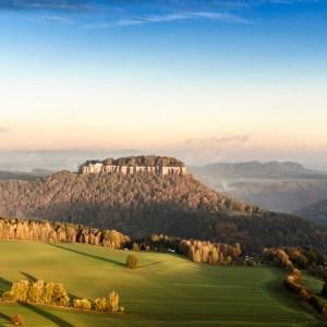 Sächsische Schweiz Tafelberg Schrammsteine Morgens Sonnenaufgang Aussicht Ausblick