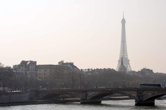 La Tour Eiffel, Paris, le 14 mars 2014