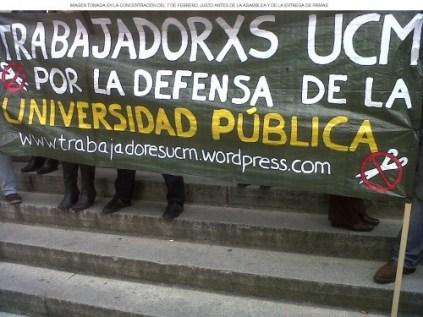 Pancarta plataforma