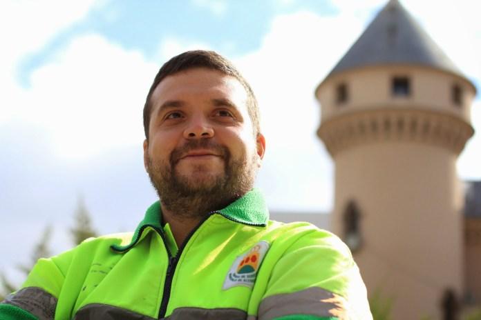 Jesús Santos Gimeno, sindicalista y trabajador de ESMASA.