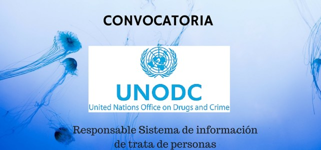 Convocatoria de Naciones Unidas (UNODC): Responsable Sistema de información de trata de personas
