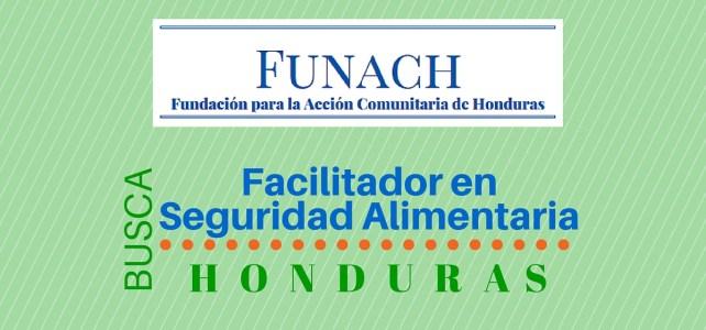 La Fundación para la Acción Comunitaria de Honduras busca Facilitador en adaptabilidad al Cambio Climático y seguridad alimentaria