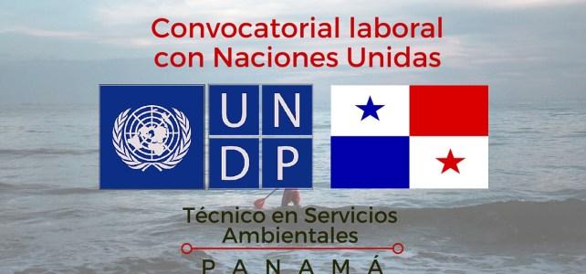 Naciones Unidas Panamá busca Técnico en Servicios Ambientales