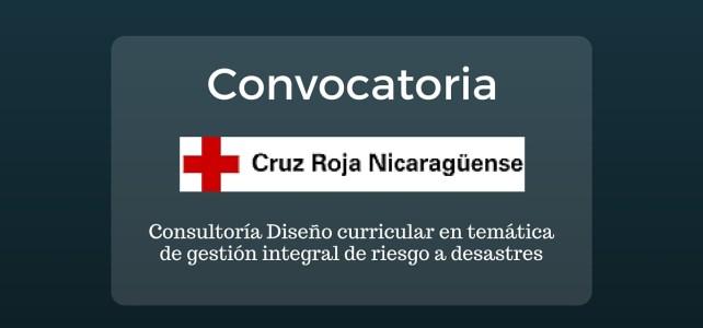 Trabaja con la Cruz Roja en Nicaragua
