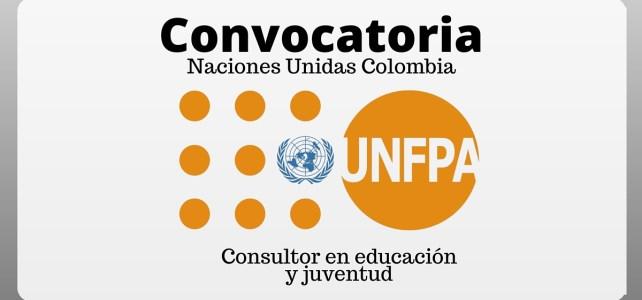 Trabaja con el Fondo de Población de las Naciones Unidas (UNFPA)