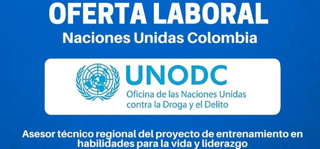 Vacante: Habilidades para la vida y liderazgo con Naciones Unidas en Colombia