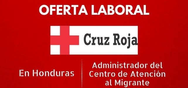 Trabaja con la Cruz Roja en Honduras