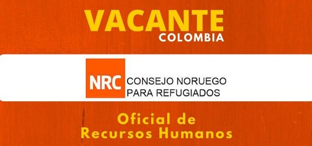 Trabaja con el Consejo Noruego para Refugiados en Colombia