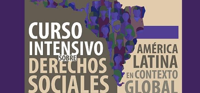 Convocatoria – Curso de Derechos sociales en América Latina