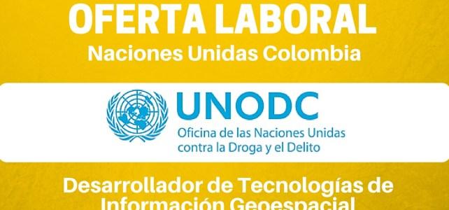 Naciones Unidas – UNODC – abre vacante laboral en Colombia