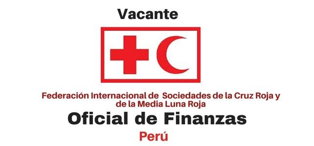 Vacante Oficial de Finanzas con la Federación Internacional de Sociedades de la Cruz Roja