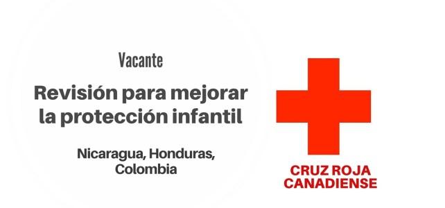 Trabaja con la Cruz Roja Canadiense en Protección Infantil en Emergencias