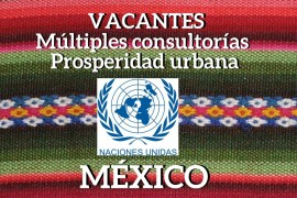 Vacantes prosperidad urbana Mexico