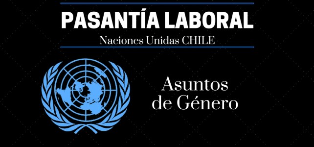 Pasantía laboral con las Naciones Unidas en Chile en la Comisión Económica para América Latina y el Caribe (CEPAL)