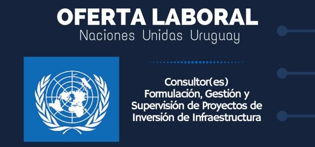El PNUD abre convocatoria laboral en Uruguay