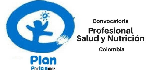 Vacante Profesional Salud y Nutrición con PLAN