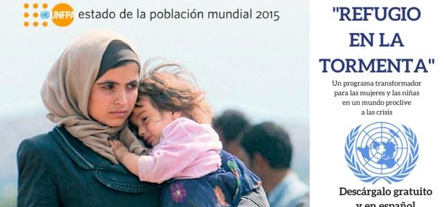 """Documento """"Refugio en la Tormenta"""" por el Fondo de Población de las Naciones Unidas"""
