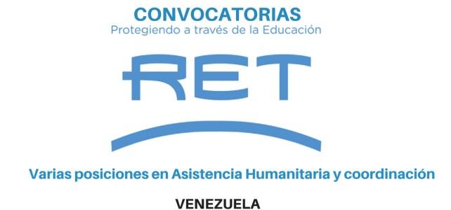 Convocatoria Vacantes laborales con RET en Venezuela