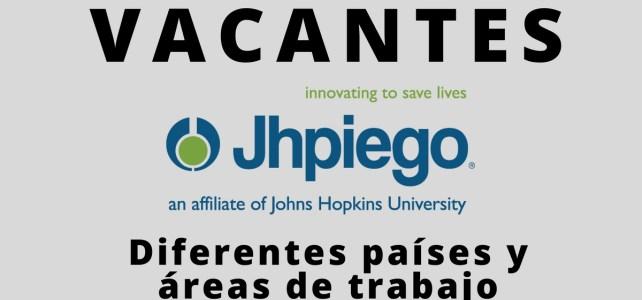 Convocatoria abierta con la Organización de Salud Internacional Jhpiego